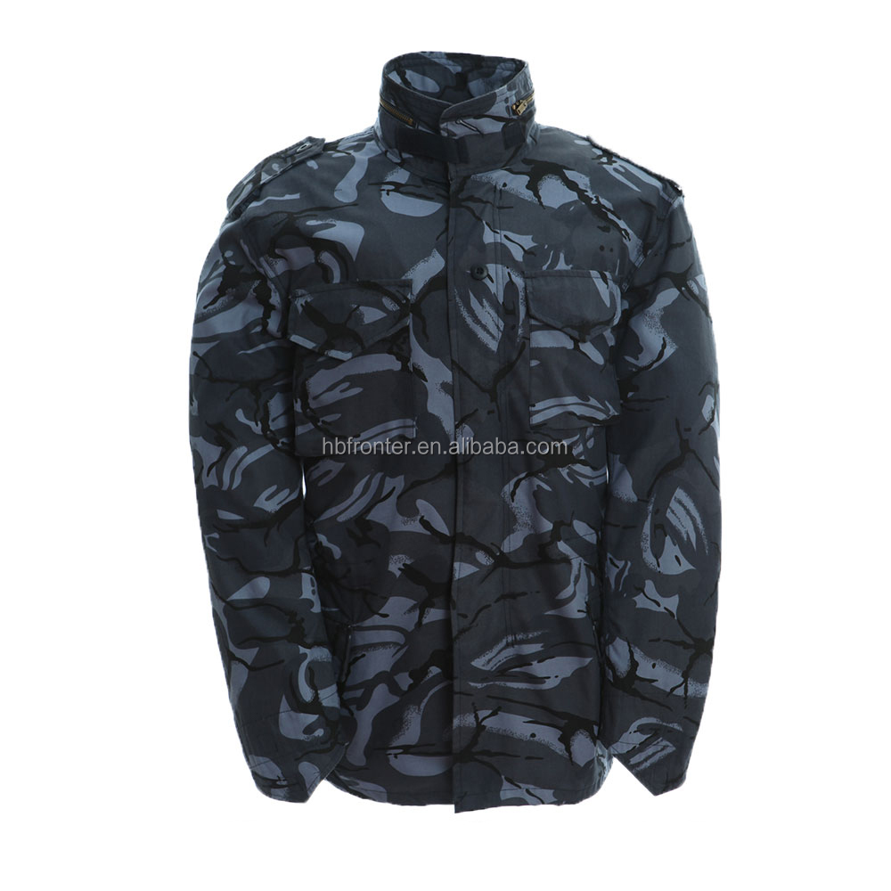 Industries British Ocean Camo M65 Field Jacket