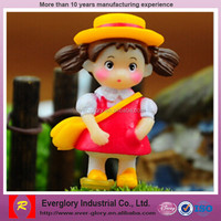 little girls modeling cartoon PVC figure,OEM Custom pvc little girls modeling