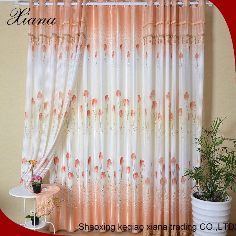 Blackout curtain silk effect curtains