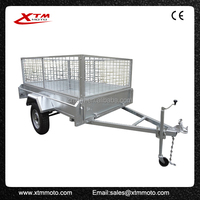 European style tipping agricultural tractors trailers