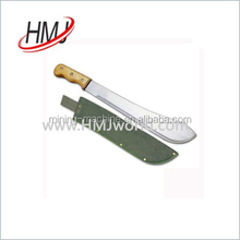 Factory price sugarcane machete cutlass knife made in China