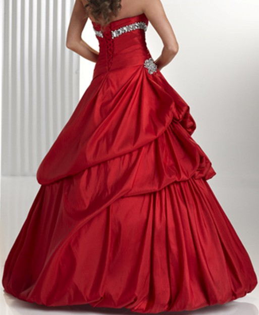 2015 factory custom made latest design party gowns ball gown vestidos de fiesta red prom dresses