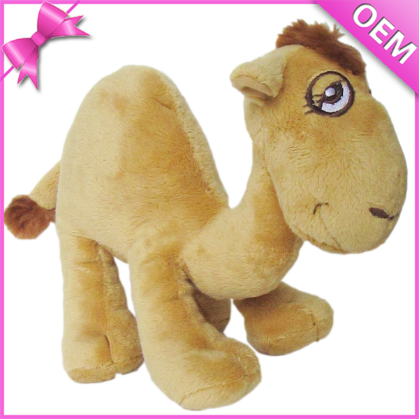 Simple And Cute Style Camel Plush Toy 15 CM Height Stuffed Dromedary JZZN-GF003