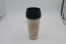 eco friendly custom paper insert coffee travel mug with paper
