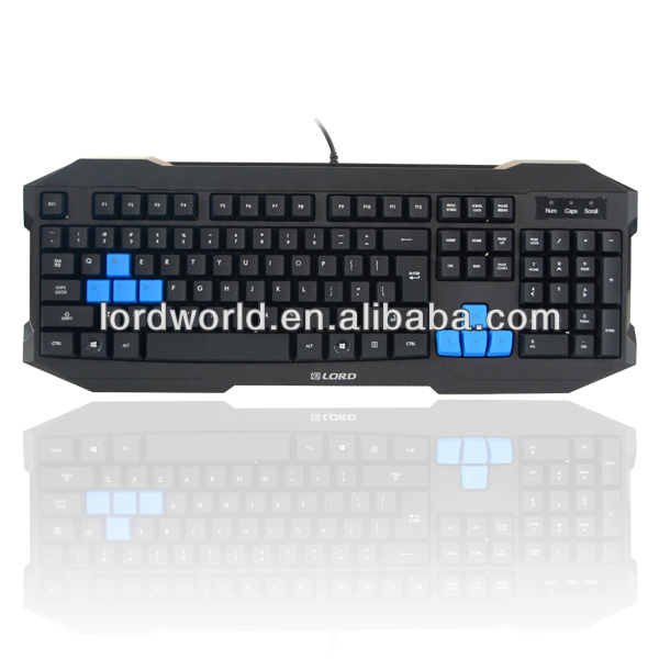 Latest taobao New design customized Big palam rest ergonomic computer Gaming keyboard