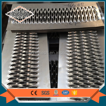 perforated metal stairs/metal stair grill design/perforated stair treads