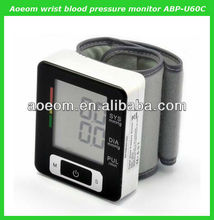 2013 hot-selling high accuracy wrist type blood pressure machine