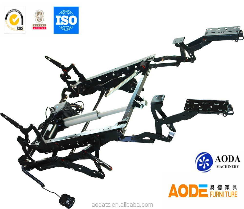 AD396 electric recliner sofa mechanism with handrest
