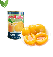 Yellow Peach Canned Fruit Factory Direct