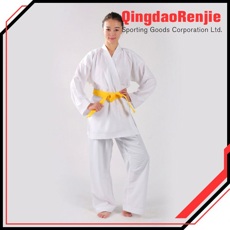 National Patents Competition Or Training Canvas Cotton 100% Karate Uniform/Martial Arts