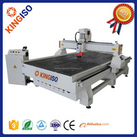Best choice KI1530 CNC wood engraving machine 5 axis cnc router with CE/ISO