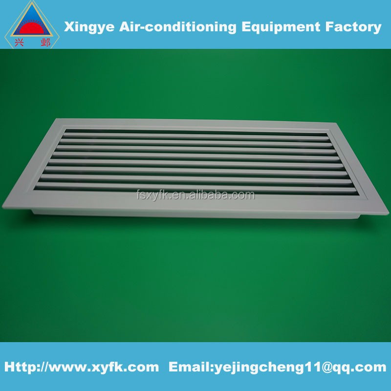 air conditioning grilles diffusers supply eggcrate return air grille HVAc aluminum ventilator vent linear air grille