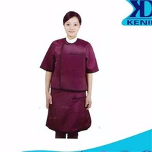 Nuclear Radiation Protection Medical Clothing with Super Light Material in Purplish Red