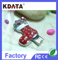 Christmas Jewellery USB Flash Memory Drive Disk Crystal USB Flash Jewellery USB Flash Drive