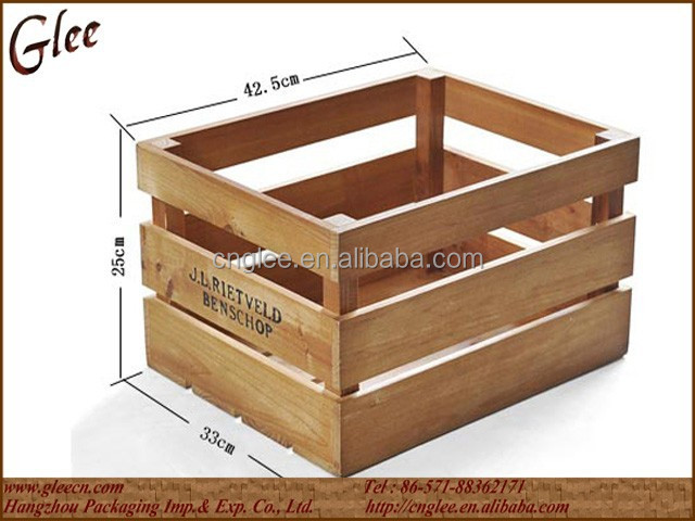 Antique Cheap Wooden Crates for Sale