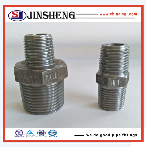 ASME B16.11 high pressure forged steel pipe fittings for gas pipe line