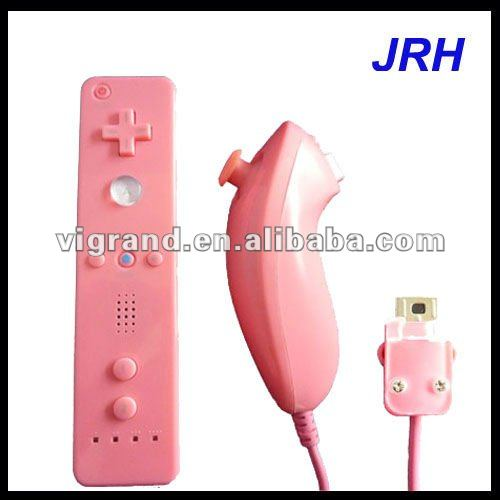 joystick controller for wii ,With many colors , build in motion plus