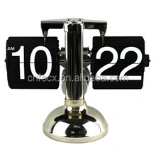 High quality auto flip clock/flip desk clock /retro flip clock