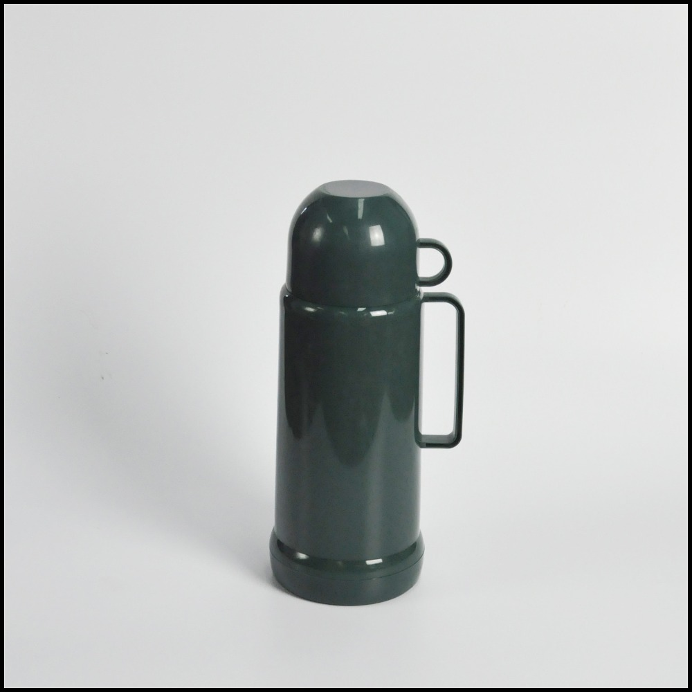 1.0L thermos glass refill vacuum flask & tea pot
