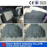 Natural slate stone roofing tile