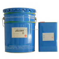 Double component flexible packaging two part polyurethane adhesive glue