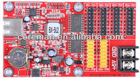 ali coreman BX sd card usb ,rs232,rs485 led display control software /led sign controler for bus
