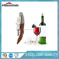 Multi-purpose can opener cheap wine corkscrews with leather box