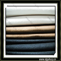Microfiber nubuck suede leather imitation suede microfibril leather for jodhpurs