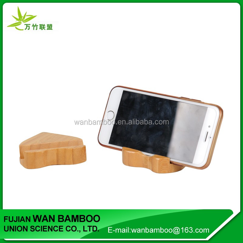 Simple Design Durable Bamboo Lazy Phone Holder