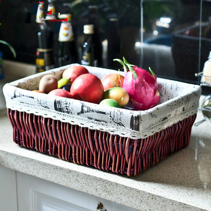 Beautiful Naturally eco-friendly wicker basket storage basket