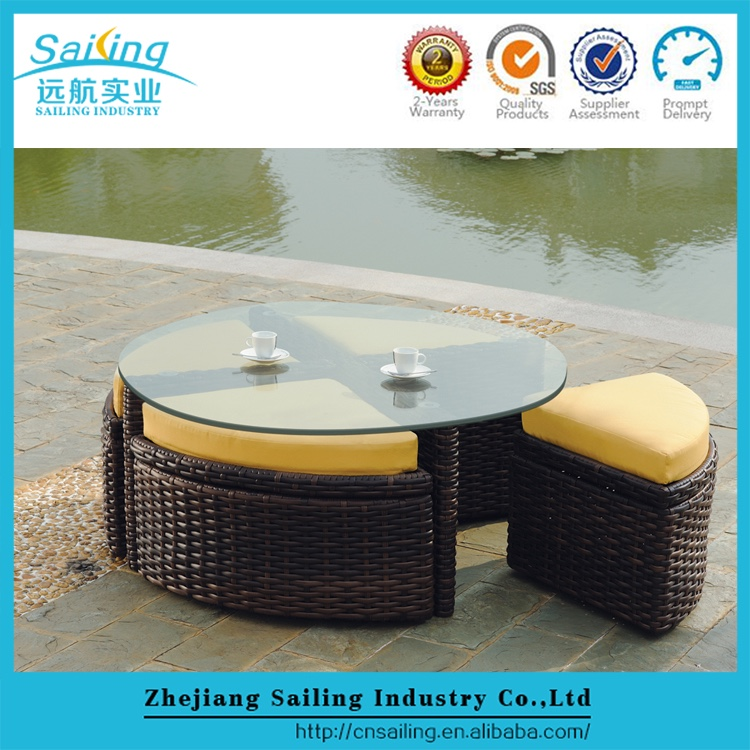 Sailing Leisure Ways Modern Rattan Living Accents Outdoor Furniture
