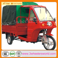 Chongqing cheap 150cc water cooled closed cabin cargo tricycle motorcycle price/cheap go karts for sale