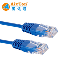 High Quality UTP FTP Metal Shielded Cat6 RJ45 Cable Patch Cable Patch Leads Jumber Cable Patch Cord Jumper Cable 1m 2m 3m 5m 10m