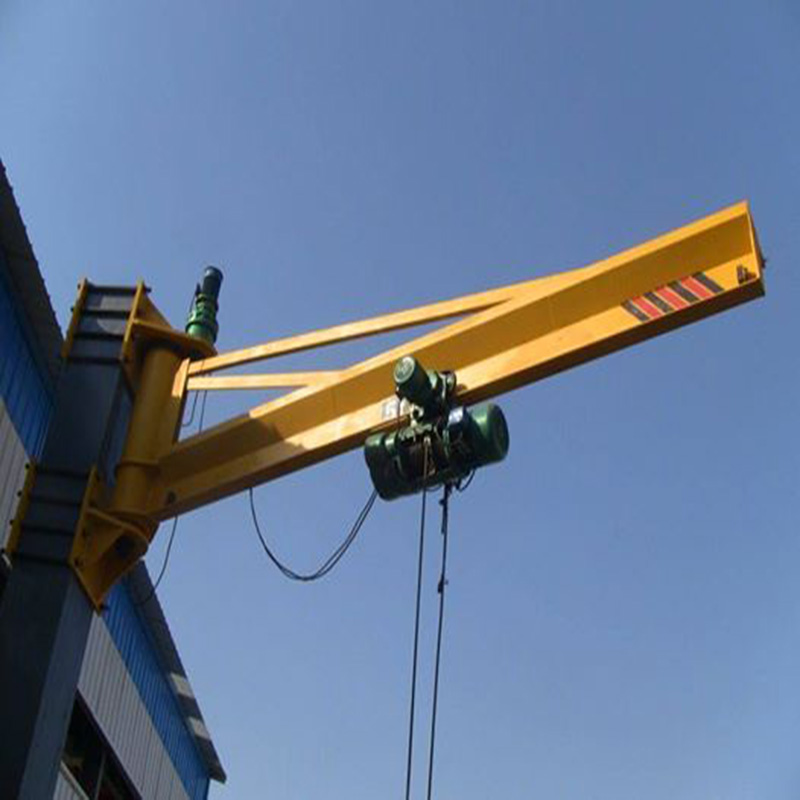 Small Portable Wall Mounted type JIb Crane 1 ton for end of 2015 year
