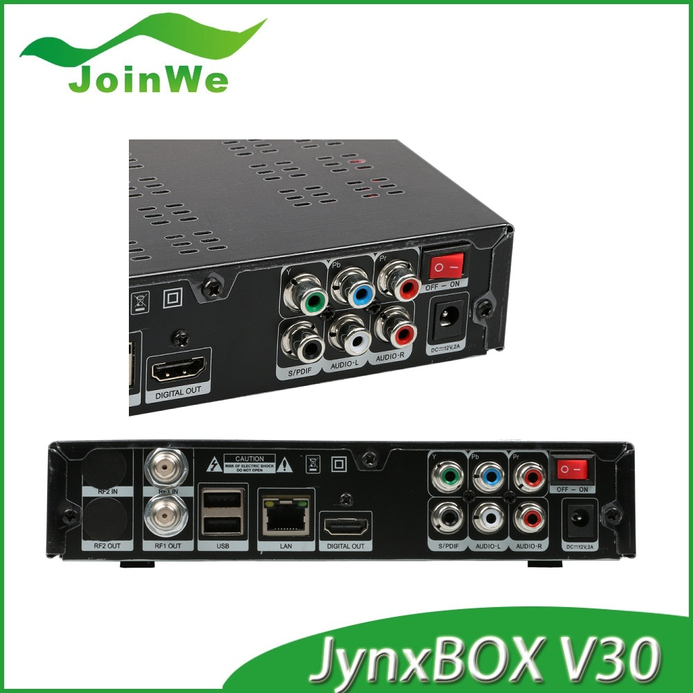 NEW !! JYAZBOX ultra hd v30 satellite TV receiver support ATSC ,turbo 8psk dvb-s2 optional FTA receiver better thanJYAZBOX v30