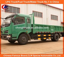 China manufacturer low price 130hp 10tons mini tipper truck, 6 wheeler dump truck for sale