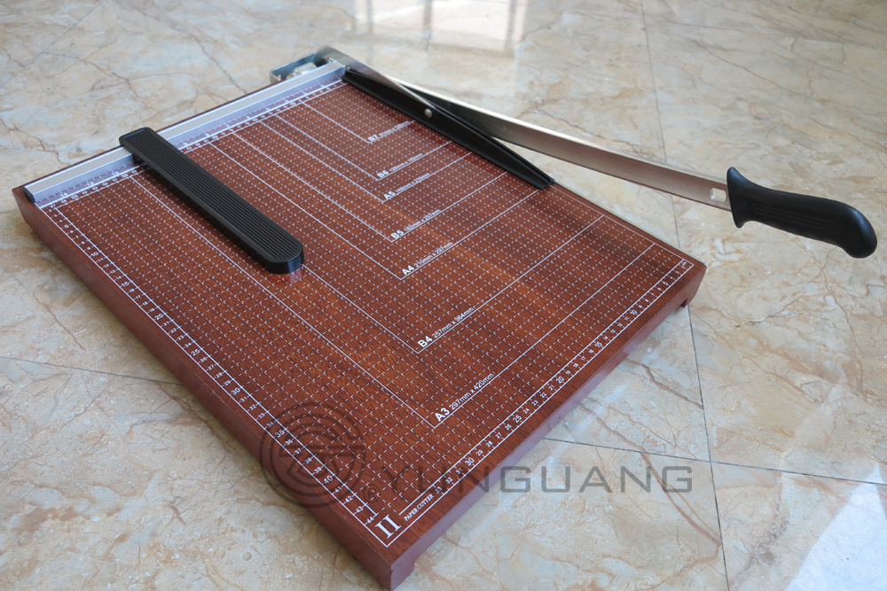 B type wood paper cutter paper trimmer for A4 size