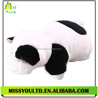 Different Shapes Stuffed Plush Dairy Cow Throw Pillow Manufacture