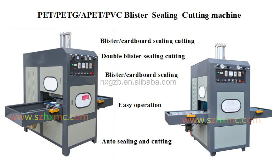 Automatic High Frequency Plastic welding machine for PVC PET blister packaging with CE certification