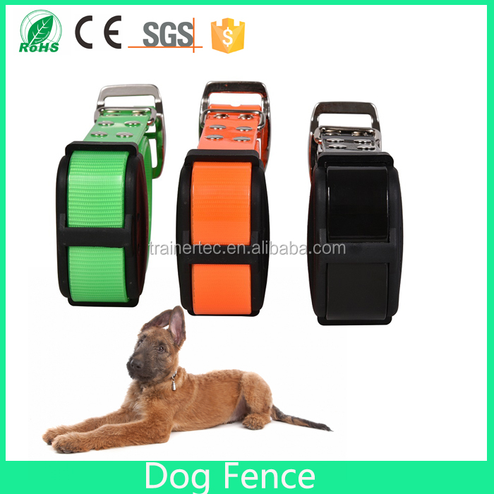 Traing collar adjustable pet fence for dog