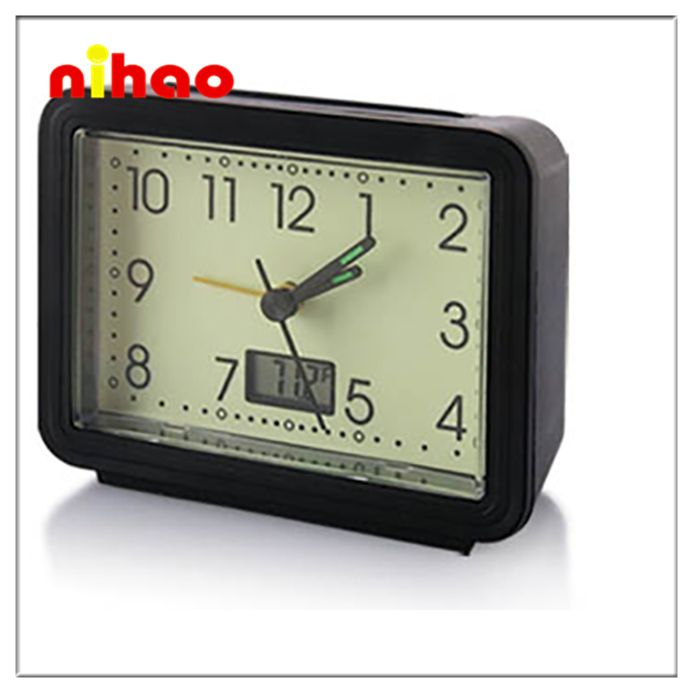 2015 Antique Plastic Table Alarm Clock with Big Disocunt