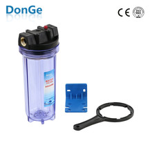 "10"" plastic clear housing heavy water filter"