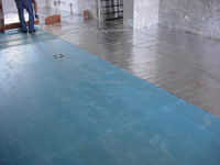 polystyrene insulation materials/blue board insulation