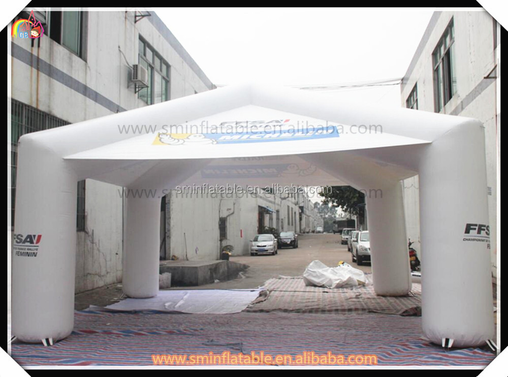 Hot selling inflatable advertising tent,tire tent,customized camping tent