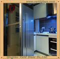 glass wall decorative panels, tempered glass fence panels,sliding glass room dividers