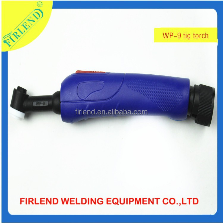 WP-9 gas cooled welding tig torch head