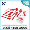 Kitchen accessories best selling silicone cooking utensil set