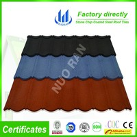 decorative stone metal tile bond,High Quality stone coated metal roof tile,building material