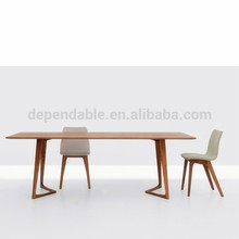 679 wooden european style japanese dining table for wholesales