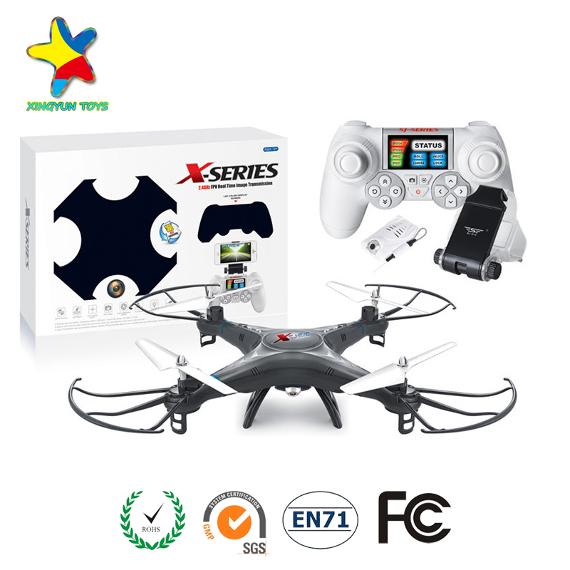 Wholesale wifi 4ch 2.4G drone rc helicopter spare parts with 0.3MP camera XY-301